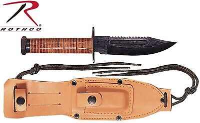 GI Style Pilot Tactical Army & USMC Marine Fighting Survival Knife 3277