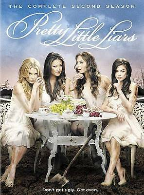 Pretty Little Liars The Complete Second Season DVD 2012 6-Disc Set WB New #2248