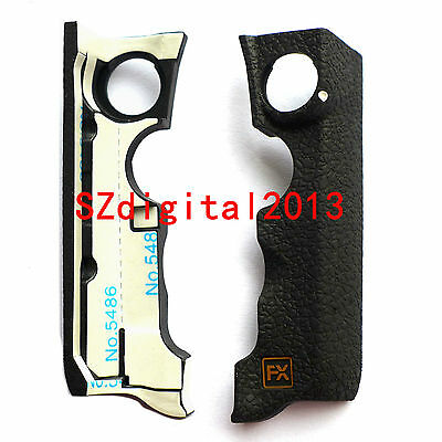 NEW Left Grip Rubber Unit Side Replacement For Nikon D800 D800E With FX + Tape