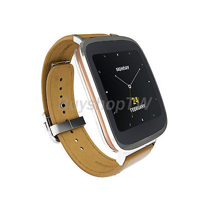 ASUS ZenWatch 4GB 1.63in WI500Q Waterproof Smart Watch Android Brown