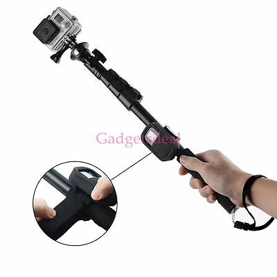 Handheld Monopod Pole Selfie Stick with Wifi Remote Case for GoPro Hero 1 2 3 3+