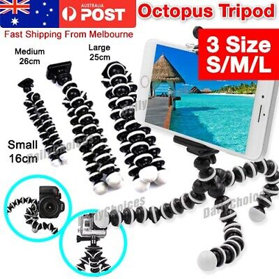 Flexible Octopus Tripod Stand | 3 in 1 | NEW Gorilla Phone Mount| iPhone Samsung