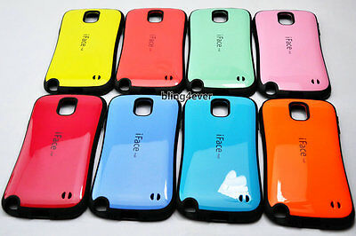 New Shockproof iFace Mall TPU Hard Case For Samsung Galaxy Note3 III N9000 +Film