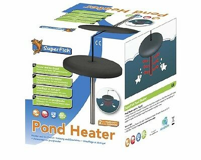 NEW Superfish Pond Heater 150w Anti Ice Winter Heater Floating Koi Device