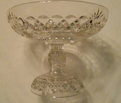 Antique Crystal Compote Bowl