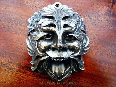 Beer Buddies New Greenman Bottle Opener, Wall Mounted, Bronze Finish, Stunning