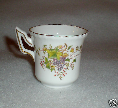 """Danbury Mint """"Coalport"""" Fine Bone China Demitasse/Cup - Made in England-Cup ONLY"""