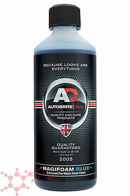 Autobrite Direct Magifoam Blue 500ml ~ Snowfoam Wash Detail Car Shampoo