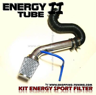 Kit D'admission Directe Sport Filtre A Air+ Energy Tube Aluminium Universel