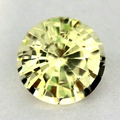█ 50%OFF █CERTIFIED NATURAL UNHEATED 5.1mm 0.64ct WHITE CHRYSOBERYL MADAGASCAR
