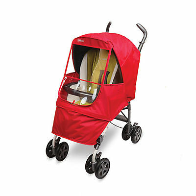 Manito Stroller Weather Shield - Elegance Alpha (Red) *New Year Special Sale!*