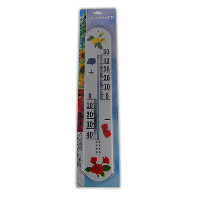 Large Garden Thermometer - Wall Patio Conservartories Home Garage Shed Shop
