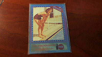 COCA COLA SERIES 4 SF-5 HELENE MADISON CARD MINT SLOT 62