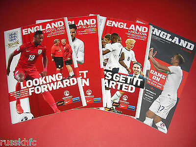 England U21 Home Matches - Choose From List
