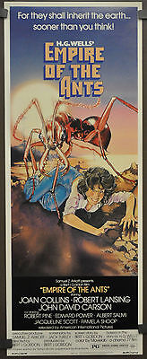 EMPIRE OF THE ANTS 1977 ORIGINAL ROLLED 14X36 JOAN COLLINS ROBERT LANSING