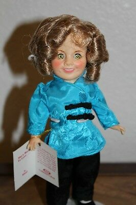 "SHIRLEY TEMPLE ""STOWAWAY"" - 8"" DOLL BY IDEAL"