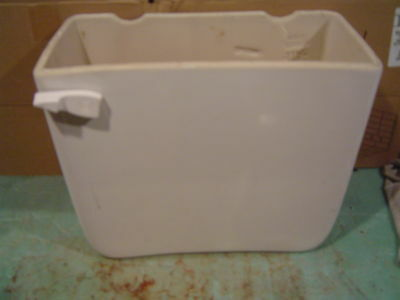 Gerber toilet tank commode A11 top approx 16.5 x 8 made 2001 lid separate WHITE
