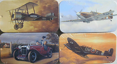 Tourer Aircraft Vintage Style Tin Licensed Print New Collectors Tin No Contents
