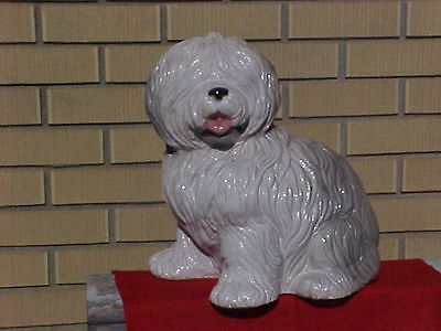 Ceremic Sheep Dog Made in Italy Intrada