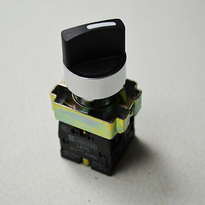 NEW 1pc  2 Position NO Momentary Select Selector Switch