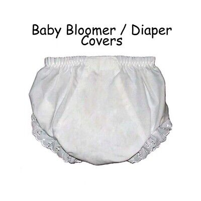 Baby Diaper Covers Bloomers Embroidery Blank - 18 months