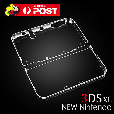 Transparent Clear Crystal Hard Case Cover Shell Skin For NEW Nintendo 3DS XL LL