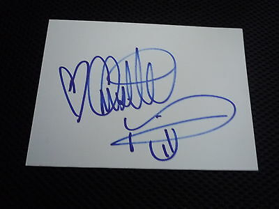 CHRISETTE MICHELE  signed autograph In Person index card