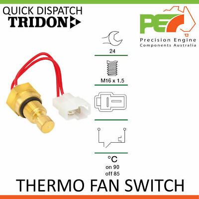 New Genuine * TRIDON * Universal Thermo Fan Switch - 90C ON   85C OFF, M16x1.5