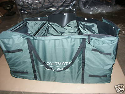 Frontgate Deluxe Tree Garland Rolling Storage Organizer BAG Keeper 10-12' Green