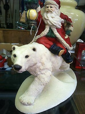 The Legend Of Santa Claus Into The Wind United Design Limited Polar Bear USA MIB