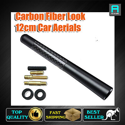 """Black 4.7"""" Antenna Car AM FM Radio Signal Aerial For Holden Commodore VE SS SV6"""