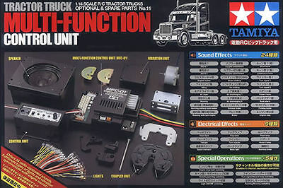Tamiya #56511 1/14 R/C Truck Multi-Function Control Unit MFC01 56301 56307 56323