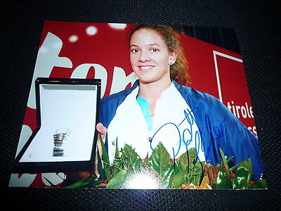 PATTY SCHNYDER signed Autogramm In Person 20x25 cm TENNIS