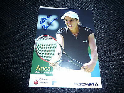 ANCA BARNA  signed Autogramm In Person 10x15 cm TENNIS