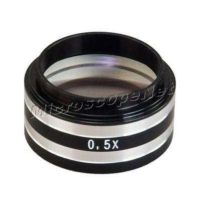 0.5X Auxiliary Objective Lens for Buasch & Lomb B&L Stereo Microscopes 38mm