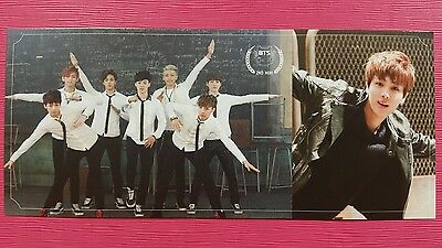 BTS JIN SEOKJIN #2 Official PHOTOCARD 2nd Album Skool Luv Affair Photo Card 진