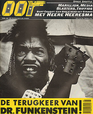 MAGAZINE OOR 1985 nr. 16 - GEORGE CLINTON (COVER) / TRIFFIDS / MARILLION