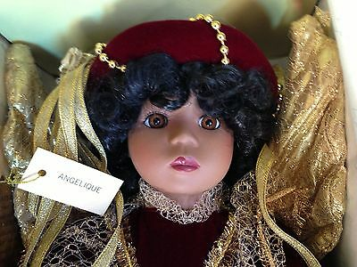 Seymour Mann Connoisseur Doll Collection ANGELIQUE in original box with tags
