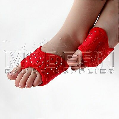 Dance Foot Thongs Foot undies RED