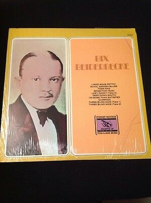 Bix Beiderbecke LP in Shrink Wolverines Bix & His Orchestra Chicago Loopers Jazz