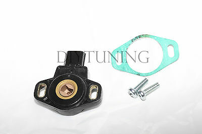 02-06 ACURA RSX BASE HONDA CRV TPS THROTTLE POSITION SENSOR W MOUNTING SCREWS