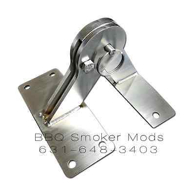 Weber KETTLE Lid Hinge Mod Parts Kit smokers one touch bracket Mod 22.5 26.75