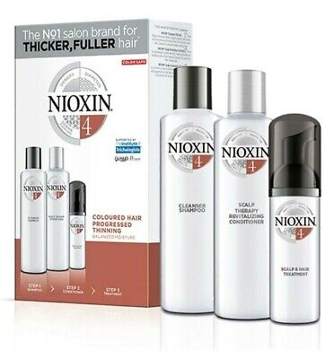 Nioxin System 4 Starter Kit Fine Coloured Hair Australian Stockists