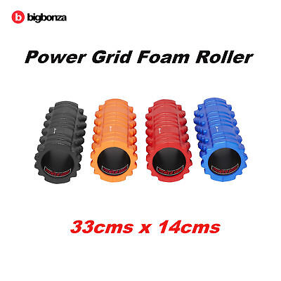 Foam Roller Grid EVA 33x14cm Physio Pilates Yoga Gym Exercise Trigger Point