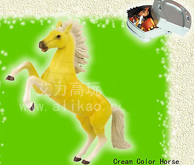 4D Animal Puzzle Toy Assembly Cream Color Horse Box #B-132