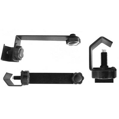 """Mic Stand Extension Attachment Bar Clamp Mount On Stage In Studio 5/8""""-27 Thread"""