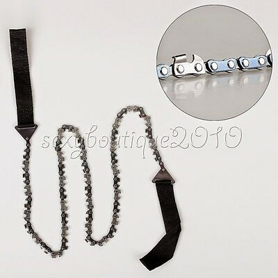 Outdoor High Limb Rope Chain Saw Manual Cutter Trimming Prunning Chainsaws