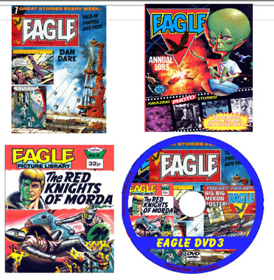 Eagle Comics 420 issues with 25 Boys World, viewing software - 2 DVDs