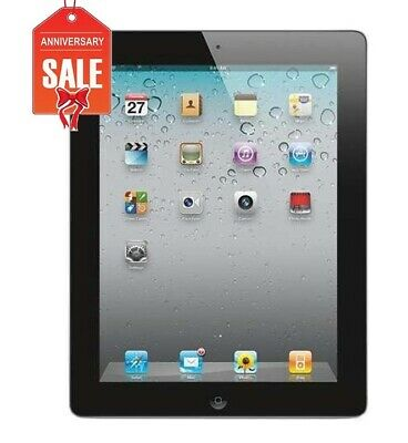 Apple iPad 2 16GB, Wi-Fi, 9.7in - BLACK - GREAT CONDITION (R-D)