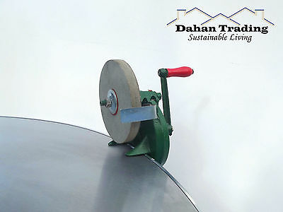 """NEW! 4"""" or 6"""" Bench grinder-Manual/ Hand operated- knife/ tool sharpener.."""